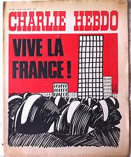 Charlie hebdo n°124 du 2/04/1973 Couverture Gébé - Le Grand Duduche -