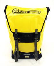 Ortlieb Waterproof Bicycle Messenger Bag XL Backpack 60L Yellow/Black
