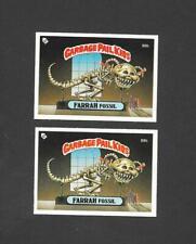 Topps UK Garbage Pail Kids GPK 3rd Series (1986) 2 variety cards of No 88b