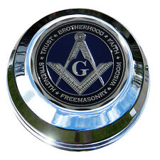 MotorDog69 Masonic Harley Gas Cap Coin Mount