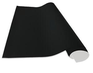Selbstklebende und magnetische Tafelfolie in verschiedenen Größen   Schwarz