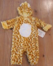 NWT Pottery Barn Kids BABY GIRAFFE Halloween Costume Infant 0-6 Months