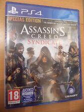 Assassins Creed sindicato Edición Especial + Libro De Estrategia Oficial + mapa del cartel
