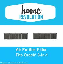 2 Filters for Oreck 3-in-1 Air Purifier AIR12B, AIRPS Super Air 7,AIR7B,AIR7C