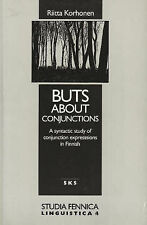 Buts About Conjunctions: A Syntactic Study of Conjunction Expressions in...