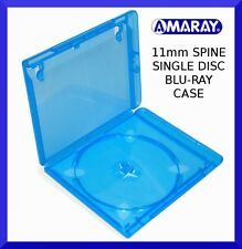 11mm AMARAY  Replacement blu-ray case (holds 1 disc) - slight seconds