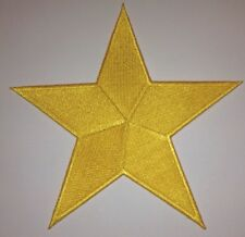 5 Inch Yellow Star Iron On Patch Patches - As Many As You Want: $2.69 Ship - 52