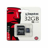 Kingston 32GB 32 Gig 32 GB Micro SD Card + SD Adapter For Samsung S8 S8+ Note8