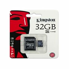 Kingston 32 GB 32 GB 32 GB tarjeta micro SD + Adaptador Sd Para Samsung S8 S8+ & 8 Note