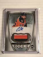 2018-19 Upper Deck The Cup Cooper Marody Rookie Auto Patch /249 Edmonton Oilers