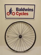 700c / 29er REAR Hybrid Bike Wheel Double Wall BLACK Rim - Q/R Screw On Hub