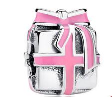 1PCS Christmas gift Charm Beads fit European Silver Bracelet DIY 8lo