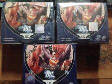 "3 box di VS System ""Justice League of America"" - DC comics - 2 box ita 1 box eng"