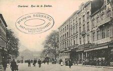 Charleroi,Belgium Rue de la Station,Used,1918