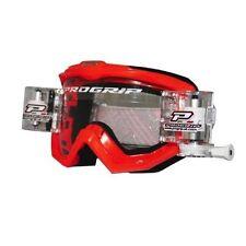 Occhiali da moto con lenti in rosso ProGrip