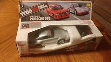 Tyco R/C Radio Control Porsche 959 Vintage 90's Taiyo Stk. No. 2304-49 49Mhz
