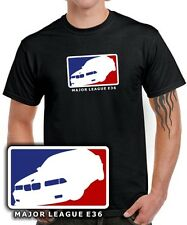 T-shirt * major league e36 * tuning 3er m3 * reunión sátira bmw 3 trío culto