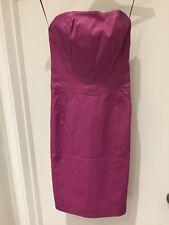 Mango Strapless Purple Slim Dress - 6