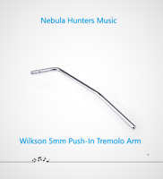 Wilkinson 5mm Push-In Tremolo Arm Whammy Bar For Strat ST Imported Guitar Bridge
