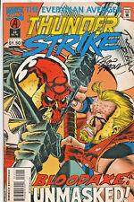 Thunderstrike #22 (Jul 1995, Marvel) ( Fine 2 Autographs