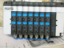 FESTO CPV14-VI PNEUMATIC VALVE BANK WITH VALVES (NEW NO BOX)