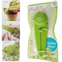 Herb Scissors Kitchen Tool Cut Snip Strip Mince Hand Fast Cutter Slicer Easy