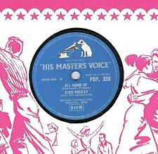 ELVIS PRESLEY 78 ALL SHOOK UP / THAT'S WHEN YOUR HEARTACHES BEGIN  HMV POP 359 E