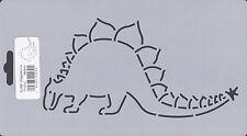 Quilting Stencil Template - Stegosauras Dinosaur Stencil - Made in the USA