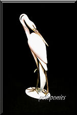 HEREND Large Heron Figurine C5189 - Waterfowl Collection
