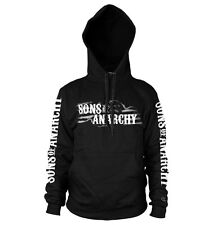 Officially Licensed Sons of Anarchy SOA Flag Logo Hoodie S-XXL Sizes