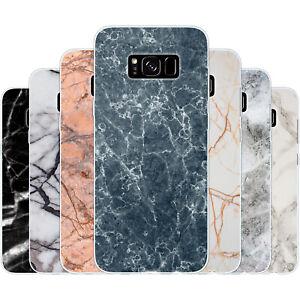 dessana Marmor Muster Silikon Schutz Hülle Case Handy Tasche für Samsung Galaxy