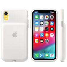 Original Apple Smart Battery Case für iPhone XR weiß (MU7N2ZM/A)