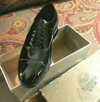 Vintage Salesman SHOE STORE Sample  'HANOVER SHOES' Black in ORIGINAL LIDDED BOX