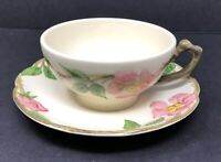 Franciscan DESERT ROSE Cup & Saucer Set Made in USA