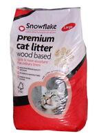 Snowflake Premium Wood Based Cat Litter - 30ltr