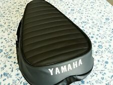 YAMAHA AT1 CT1 125 CT1 175 1969 TO 1971 SEAT COVER WHITE LOGO (YS48)