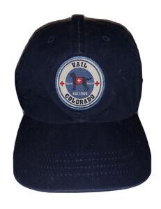 Vail Colorado Search & Rescue Baseball Cap StrapBack Hat Est 1966 Youth OSFA