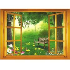 3D Window View Removable Tree Wall Sticker Quotes Art Vinyl Decal Decor Mural