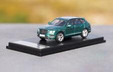 1:64 Bentley Bentayga Britain Green Diecast Model Car