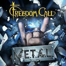 FREEDOM CALL M.E.T.A.L. NEW CD +2 Bonus Tracks  2019 (Power Metal) gamma ray