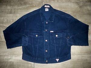 1980s Vintage Guess Jeans USA Pigskin Zippered Varsity Style Jacket XL Olive Green Leather Bomber Jacket 42 to 44 usuk