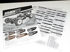 MUGE2021 Mugen Seiki MBX8 1/8 Buggy Instruction Manuels