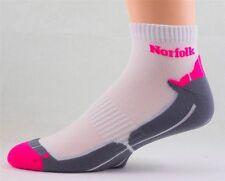 Norfolk Men's Active Sports Microfiber Nylon Socks Arch Support Half Terry M6
