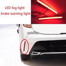 For Toyota Corolla Hatchback 2019 LED rear fog light / brake warning light 2pcs