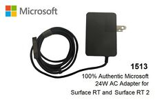 NEW 100% Authentic Original Microsoft Surface RT 2 12V 2A 24W Charger 1512 1513
