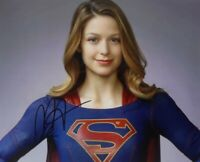 "MELISSA BENOIST 8x10 Signed Photo Autographed -""SUPERGIRL"""
