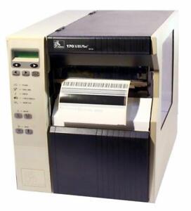 Zebra 170Xi-III Plus 170-7G1-00100 300DPI Thermal Barcode Label Printer USB WiFi