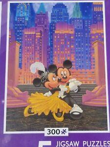300 piece Disney Mickey Minnie Puzzle New In Sealed Bag, No Box