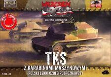 First to Fight 1/72 Polish TKS with Machine Gun # 015