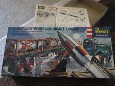 """Vintage 1958 Revell Honest John Missile """"S"""" Kit Model H1821-169 rare"""